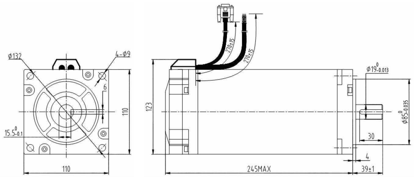 hybrid servo motor leadshine es