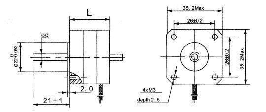 stepper motors 35byg