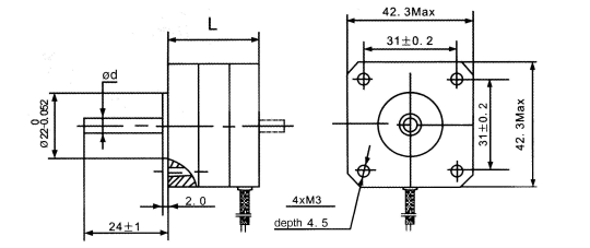 stepper motors 42bygh