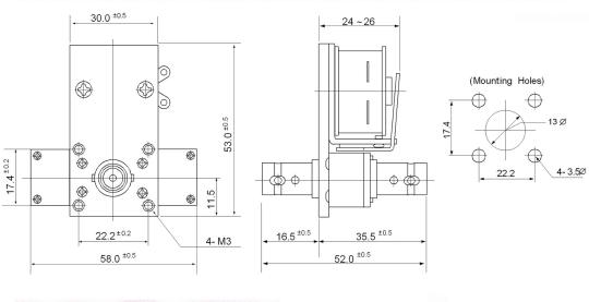 coaxial relay cx540d 24v